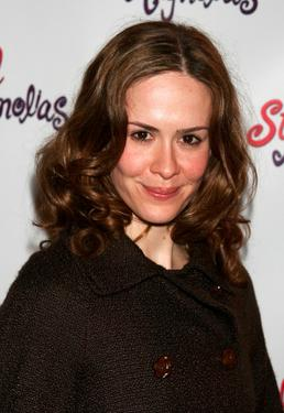 "Sarah Paulson at the after party for the opening night of ""Steel Magnolias."""